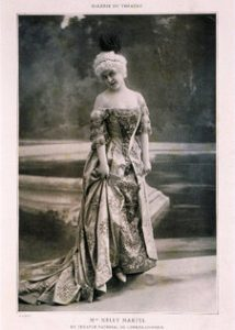 Nelly MARTYL, French soprano in the title role of opera Manon by Jules Massenet, 1842-1912 French composer   Photo Credit: [ The Art Archive / Bibliothèque des Arts Décoratifs Paris / Gianni Dagli Orti ]